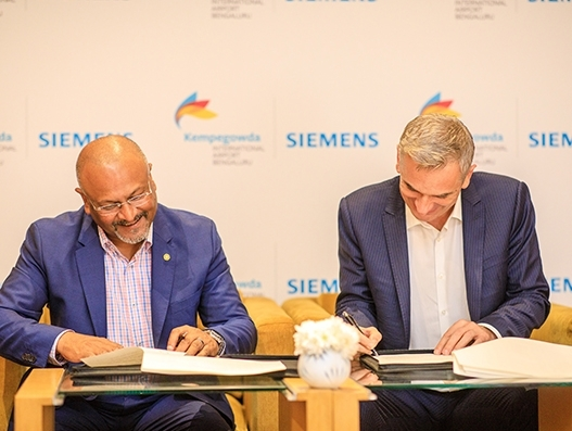 Siemens Postal and BIAL ink deal to drive digital transformation of BLR Airport