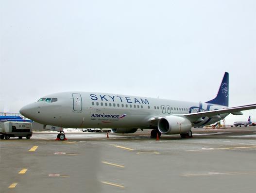 New Boeing B737-800 joins Aeroflot Fleet