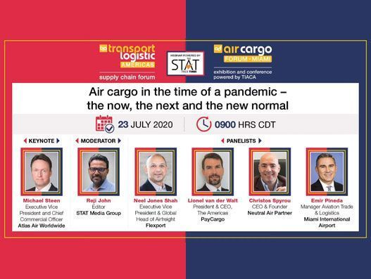 """Special webinar on Covid-19 impacts on air cargo creates a buzz"""