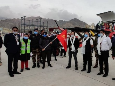 SpiceJet launches dedicated cargo flights to Leh for essentials during winter