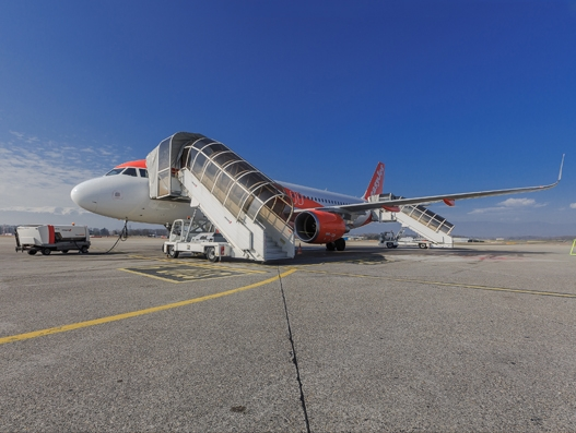 easyJet and Swissport International extend ground handling services contract in Geneva