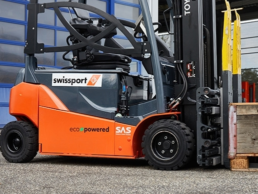Swissport's vehicle fleet to be 50% electric by 2025