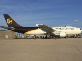 UPS announced the expansion of its express air network to Gary/Chicago International Airport. Service begins Nov 2