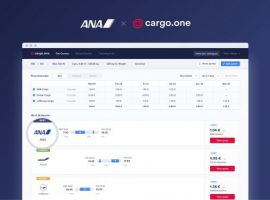 All Nippon Airways (ANA), Japan's largest airline, is providing real-time quotes for all available air cargo capacity on e-booking platform cargo.one.