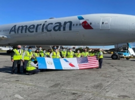 After distributing 1.5 million doses of vaccine to Guatemala on a Boeing 777-200 aircraft, American Airlines has moved an additional 3 million coronavirus vaccine doses to Guatemala. This is following the White House's announcement to share at least 80 million U.S. vaccine doses globally this summer.