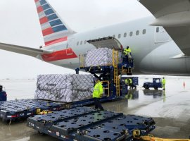 American Airlines and Deloitte together to deliver critical supplies to a hard-hit area of the United States.