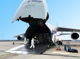 On the 30th of March CharterSync, the world's first air cargo charter platform, coordinated the movement of the first Antonov-124 aircraft into Italy