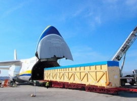 Antonov Airlines has transported parts for an aircraft in cooperation with DB Schenker Brazil from Viracopos, Brazil to Miami, USA, with one week's notice for planning and executing the project.