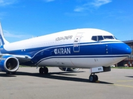 ATRAN Airlines has taken delivery of a 737-800 Boeing Converted freighter (BCF) from GE Capital Aviation Services (GECAS) and a second is slated to deliver later this month.