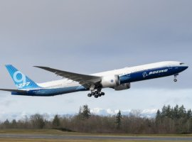 Boeing 777X successfully completes its first test flight