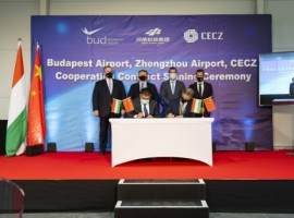 The newly signed cooperation agreement is expected to bring important economic opportunities and foster a significant expansion of air freight between Hungary and China, by connecting Budapest Airport (BUD) and Zhengzhou Airport (CGO)