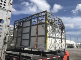 Caribbean Airlines Cargo recently shipped 159 dairy cows to Barbados, on two consecutive charter flights out of Miami, on its dedicated B-767-300 all-cargo freighter.