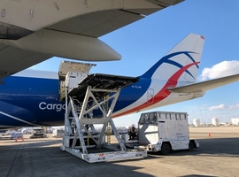 Nov 8, 2018: At the end of October, CargoLogicAir's (CLA) two Boeing 747 freighters were recently utilised in delivering elite racehorses from the United States to Europe. The British all cargo airline transported the horses for its customer, Horse America. The horses will participate in the UK's famous Tattersalls' Newmarket Sales of thoroughbred bloodstock in […]