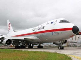 One of Cargolux's 747-400ERF freighters, LX-NCL, will be welcomed home to Luxembourg today sporting a brand-new retro livery