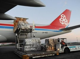 Cargolux flies medical supplies to Zhengzhou