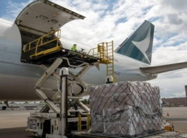 Cathay Pacific Cargo has made a further contribution to pandemic relief efforts in India with an airlift of 300,000 Covid-19 testing kits, which were a gift from the state of Oregon.