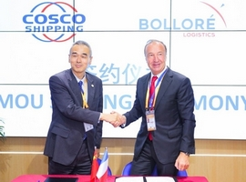 Nov 9, 2018: On November 6, 2018, Shanghai-based Cosco Shipping and Bollore Logistics signed a Memorandum of Understanding to establish a strategic cooperation and explore ongoing and future projects and opportunities in airfreight services at the China International Import Expo (CIIE) 2018. Both the companies have started to discuss the following cooperation opportunities: travel retail […]