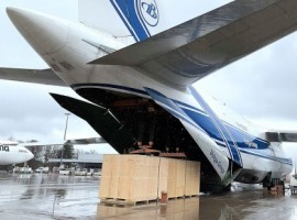 On behalf of US-based healthcare company Nexus Pharmaceuticals, DB Schenker has transported 82-tonne vaccine filling line equipment on a specially chartered Antonov An-124 aircraft this week from Frankfurt-Hahn in Germany to Chicago-Rockford in the United States.