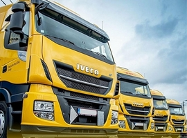 June 19, 2018: DHL Freight has acquired four Liquefied Natural Gas powered Stralis trucks from IVECO in Belgium. These heavy-duty, long-haul trucks have a driving range of up to 1,500 kilometers and enable a total weight of tractor and trailer of up to 40 tonnes. The road freight services provider decided to buy these new […]