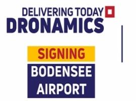 DRONAMICS partners with Bondensee-Airport Friedrichshafen