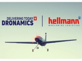 As part of the cooperation, Hellmann plans to offer the first routes with unmanned cargo drones from DRONAMICS as early as next year.