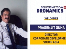DRONAMICS has appointed Prasenjit Guha as director of corporate development, South Asia, a new senior management team position.