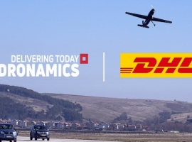 DHL and DRONAMICS agree to jointly develop solutions and offer same-day cargo drone deliveries to customers using DRONAMICS' drone delivery network and Black Swan drones. Both companies are discussing mutual exclusivity for middle-mile drone deliveries in selected industries and markets.