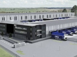 The new location just south of Oslo comprises a terminal of 12,000 sqm, 32,000 sqm warehouse including a 7,000 sqm mezzanine, and 4,700 sqm office and personnel facilities