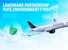 Edmonton International Airport (EIA) and Air Canada are signing a new partnership to reduce carbon emissions and advance a green and sustainable aviation sector.