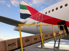 Emirates SkyCargo has announced weekly scheduled cargo flights on its Boeing 777-300ER passenger aircraft to Sao Paulo, with effect from 3 May 2020