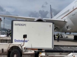 As one of the most advanced temperature-controlled air freight containers, the RAP e2 #162 landed in Atlanta in May 2021 after having boarded 29 different airlines and visiting 31 countries.