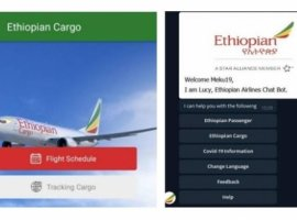 Ethiopian Airlines introduced a mobile app and chatbot-assisted shipment tracking service to elevate cargo customers' experience.
