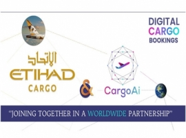 Etihad Cargo has partnered with CargoAi to elevate the carrier's API accessibility for freight forwarders as part of its digitalisation strategy