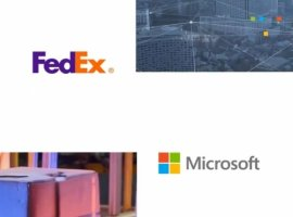 FedEx Corp. and Microsoft Corp. announced a new multiyear collaboration to help transform commerce by combining the global digital and logistics network of FedEx with the power of Microsoft's intelligent cloud.
