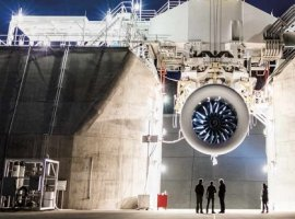 World's largest jet engine is onboard of AirBridgeCargo's Boeing 747-8
