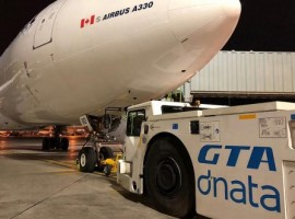 GTA dnata provides ramp, passenger and cargo handling services to 17 airlines in Toronto. The company's customer-oriented team assisted 1.2 million passengers and moved over 90,000 tonnes of cargo in 2019.