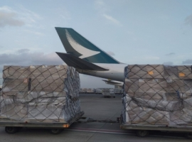 In week 20, worldwide air cargo volume increased by 2 percent compared with the previous week. Worldwide capacity remained at the same level.