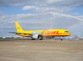 Heathrow welcomed 5,269 tonnes of specific medical cargo items critically needed in the Covid-19 pandemic including hospital equipment, PPE etc. from dedicated cargo carriers like DHL Express or repurposed passenger aircraft.