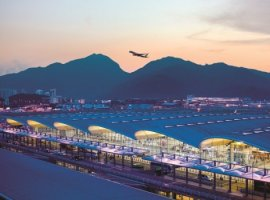 Hong Kong airport reports declined passenger and cargo performances