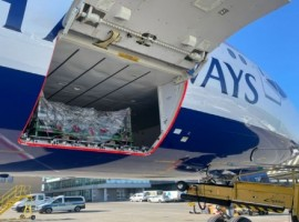 IAG Cargo, the cargo division of International Airlines Group (IAG), and its sister company British Airways will operate a relief flight to India transporting 27 tonnes of medical aid.