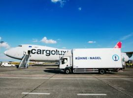 At 315,000 tonnes, Kuehne+Nagel's air freight volume in the second quarter of 2020 was 22 percent below the same period of the previous year. Net turnover rose to CHF 1.4 billion and EBIT to CHF 110 million.