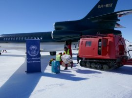 Kanoo Shipping launches Antarctica operations