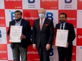 The Luxembourg-based pharma cold chain solutions provider, B Medical Systems, has announced the signing of an agreement with SpiceXpress, the cargo arm of Spicejet, to open pharma logistics centres of excellence at Indian airports to facilitate transportation of vaccines, pharma preparation and biological specimens.