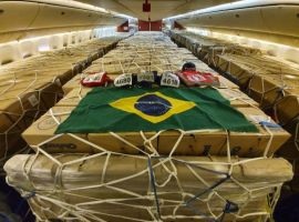 The last of LATAM Cargo's 39 flights carried out since May arrived in São Paulo-Guarulhos International Airport.