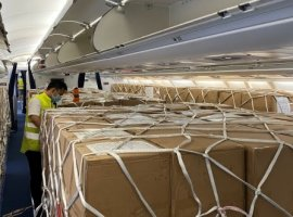 Lufthansa Cargo announced that it has scheduled fourteen additional cargo flights a week from Shenzhen to Frankfurt