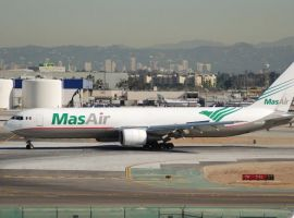 Air Transport Services Group, Inc. (ATSG) announced the delivery of a Boeing 767-300 converted freighter to Aerotransportes Mas de Carga, S.A. de C.V. (MasAir) of Mexico City under terms of a five-year dry lease agreement with ATSG subsidiary Cargo Aircraft Management (CAM).