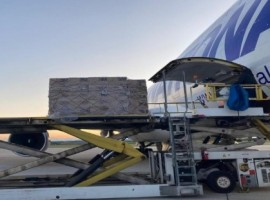 Today, National Airlines operated its B747-400 freighter from Mumbai to Chicago carrying 100 tonnes of essential medicines on behalf of JUSDA India, a logistics and supply chain subsidiary of Foxconn Technology Group.