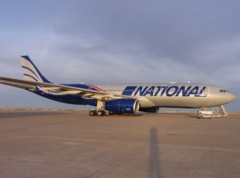 National Airline's new Airbus 330-200 aircraft ready for international charter from May