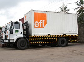Nov 4, 2019: As part of its ongoing technological advancements, Sri Lanka-based logistics multinational conglomerate EFL launched a website for its third-party logistics (3PL) cluster. The supply chain solutions provided by EFL 3PL include bonded and non-bonded distribution centres, Freeport and e-commerce fulfilment centres, project logistics, clearance, transport, consultancy and value-added services for diverse industry […]