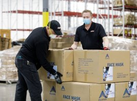 SEKO Logistics, as part of the SEKO CARES campaign, has distributed over 28,000 face masks and over 138,000 gloves to their frontline teams in North America